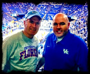 Nick and Sean at Rupp