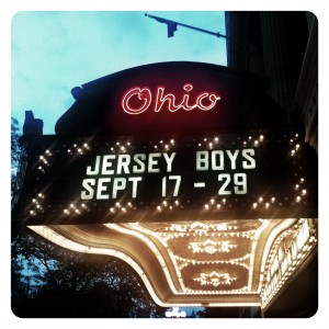 Jersey Boys marquee